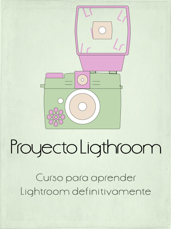 Cartel del curso de Lightroom