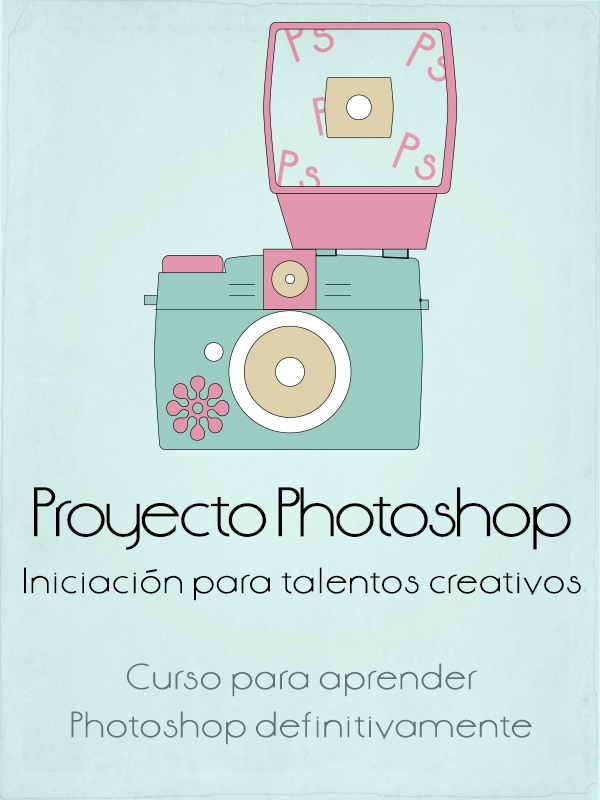 Cartel del curso Photoshop