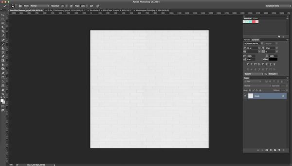 Cómo crear una textura de ladrillos con Photoshop