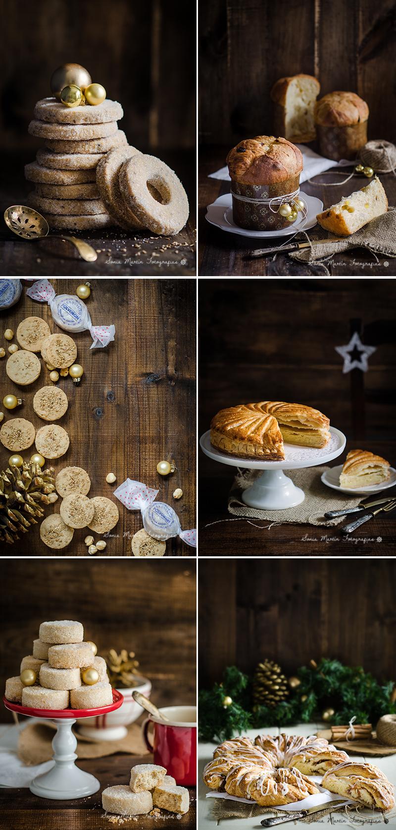 Collage Repostería navideña