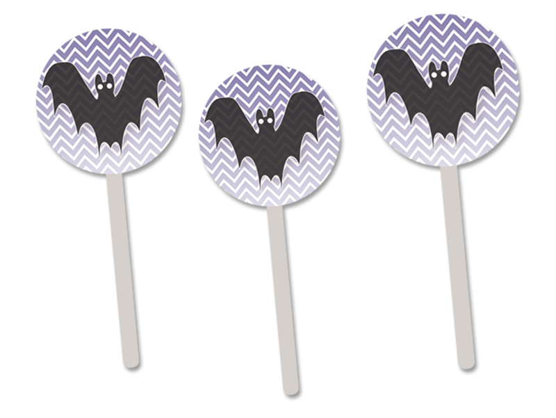 Toppers para cupcakes halloween