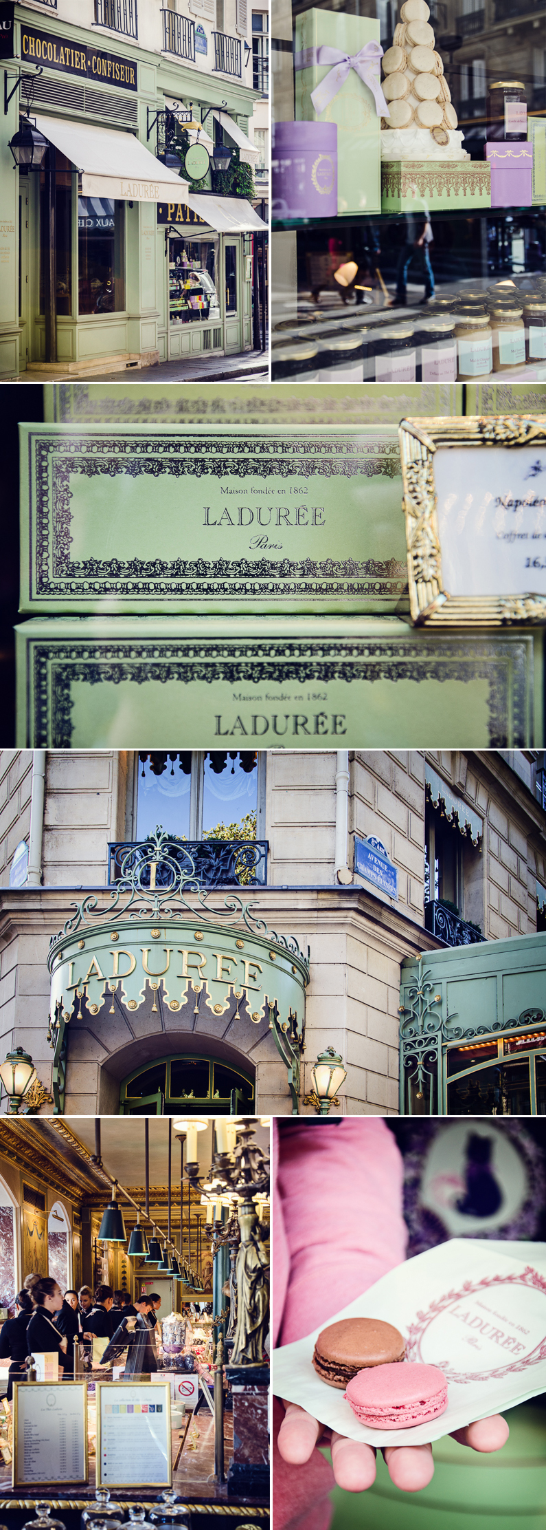 Collage Ladurée