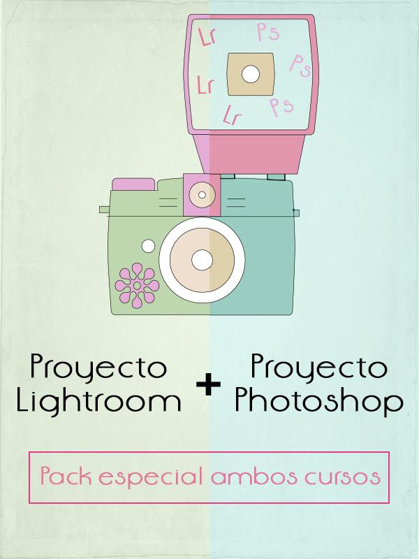 Pack especial Proyecto Photoshop + Proyecto Lightroom