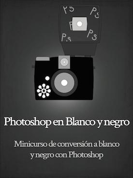 curso online de conversión a blanco y negro con Photoshop