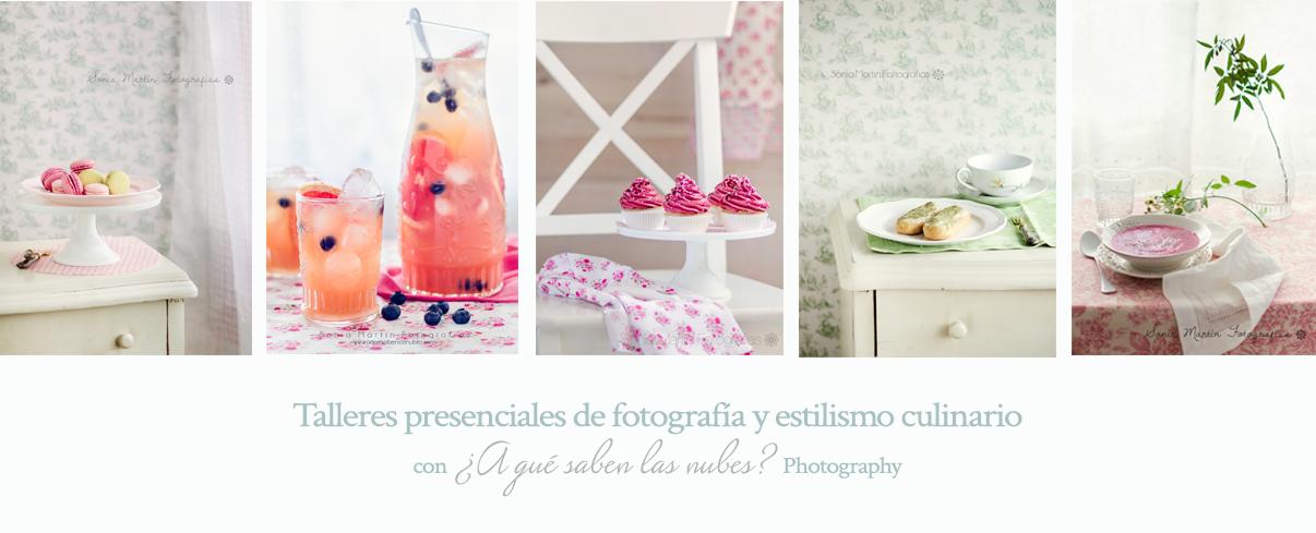 talleres presenciales de fotografía culinaria