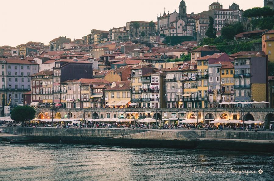 Anochecer en Oporto