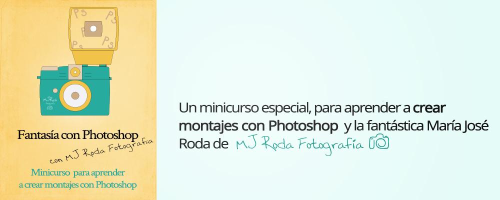 minicurso online de montajes fotográficos con Photoshop