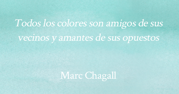 Colores complementarios Chagall