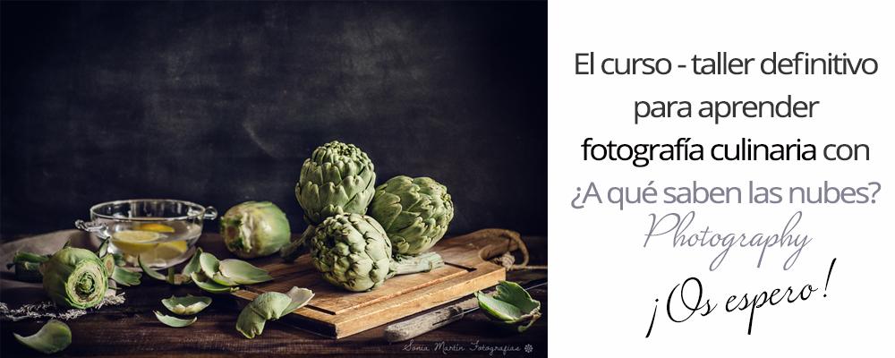 curso online de fotografía cullinaria nivel iniciación