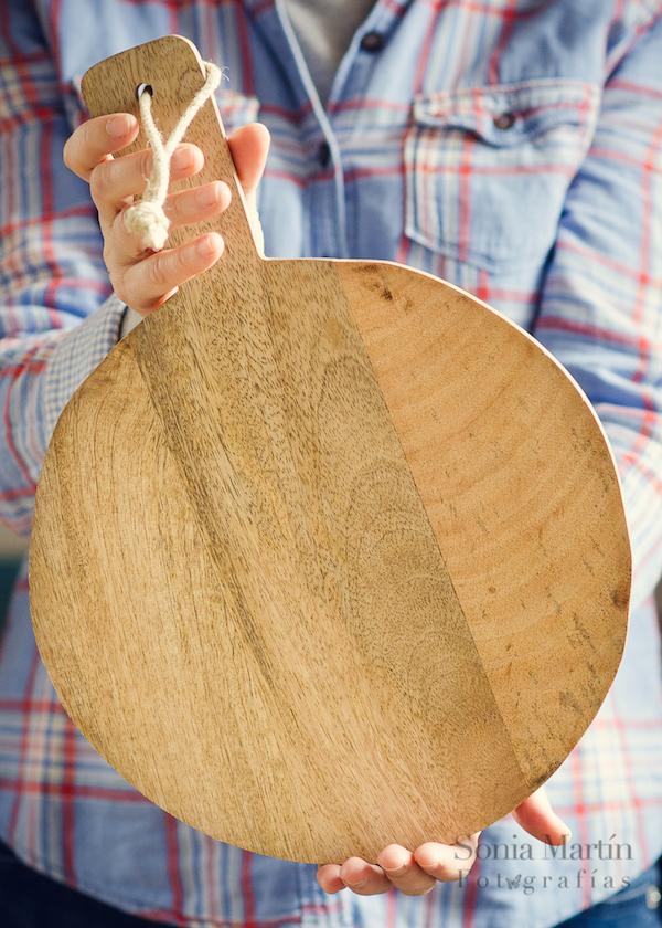 Props para fotografía culinaria tabla