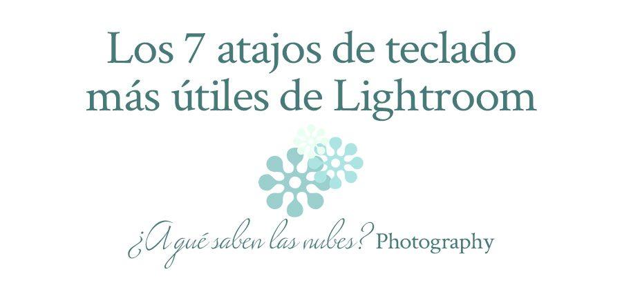 Lightroom atajos de teclado