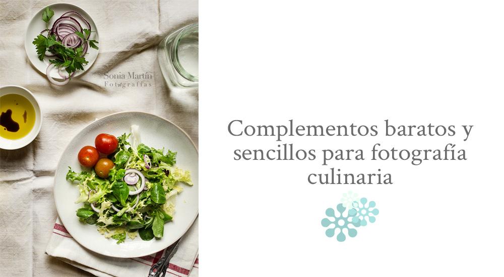 Complementos fotografía culinaria