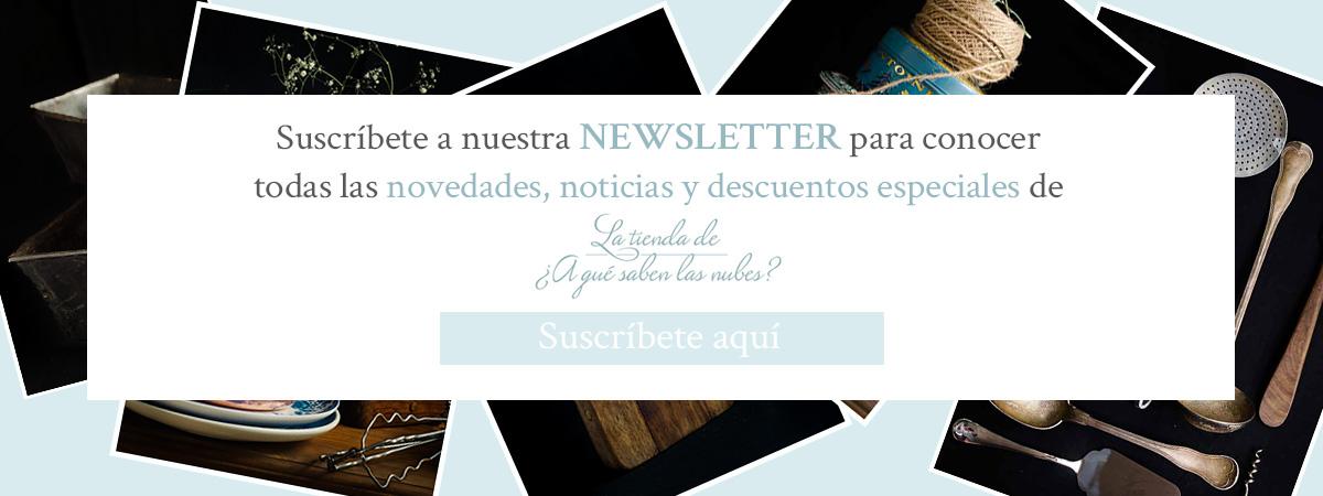 Slider Newsletter tienda