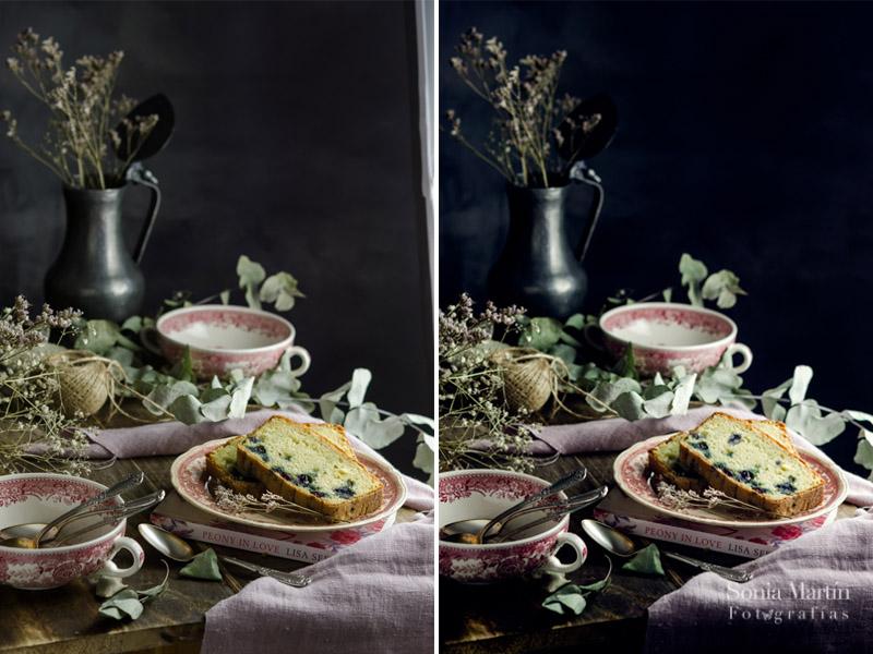 Consejos de fotografía culinaria. Antes y después