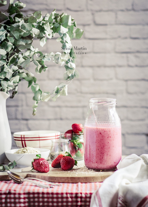 Smothie de fresas