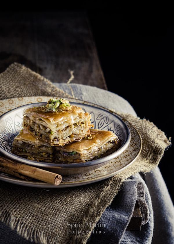 trucos de estilismo culinario baklava