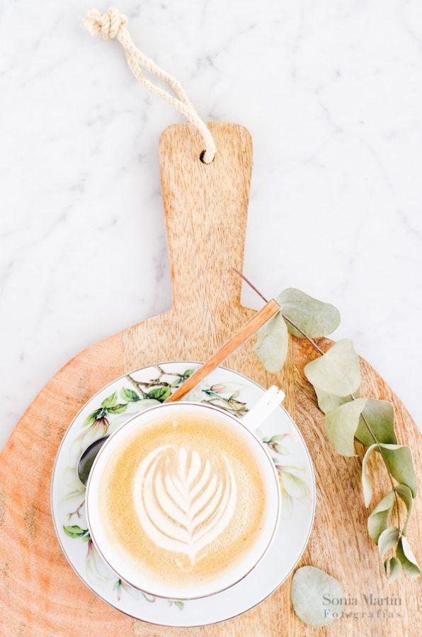 arte latte con photoshop montaje fotográfico