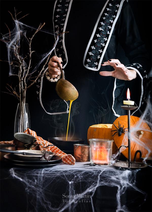 montaje fotográfico Halloween