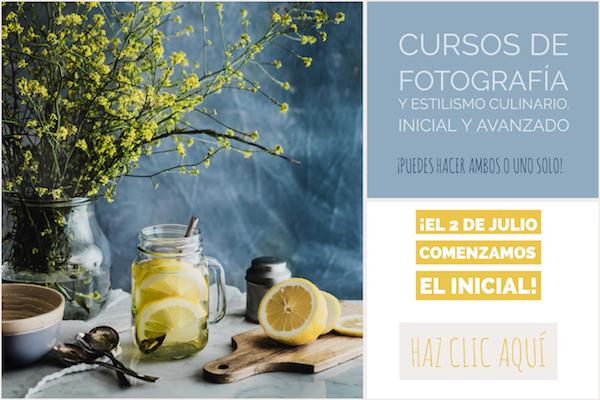 Cursos online de fotografía culinaria