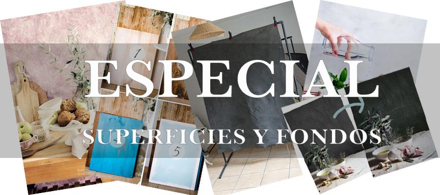 Especial Superficies y fondos para fotografía