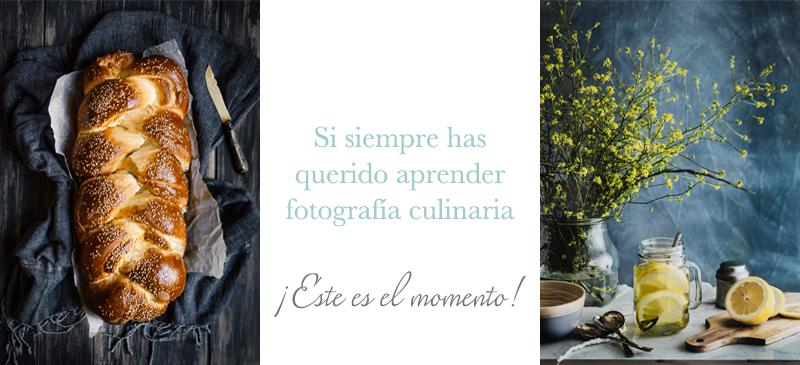cursos fotografía culinaria