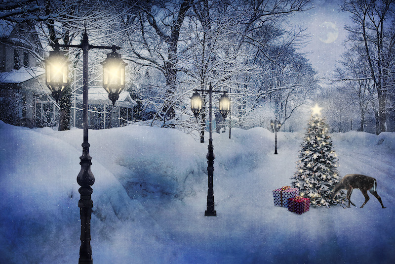 Fotomontaje navideño blog
