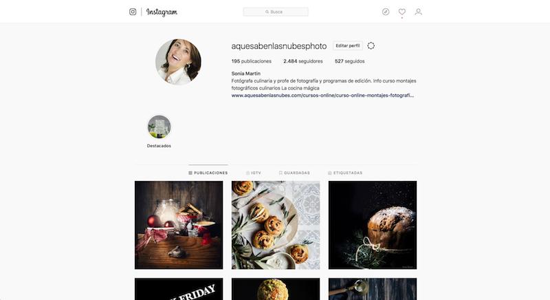 ajustar fotografías para Instagram
