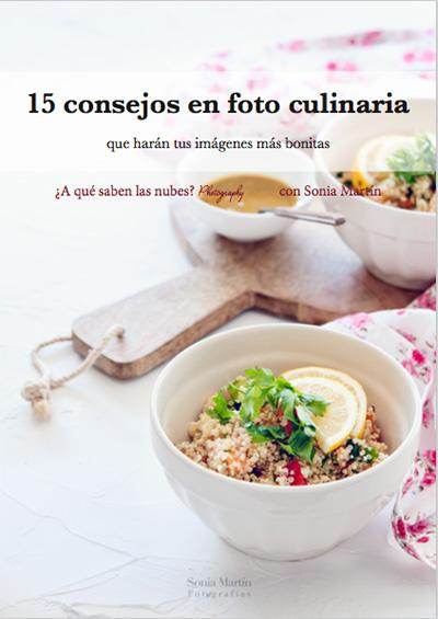 Consejos para hacer fotografías culinarias