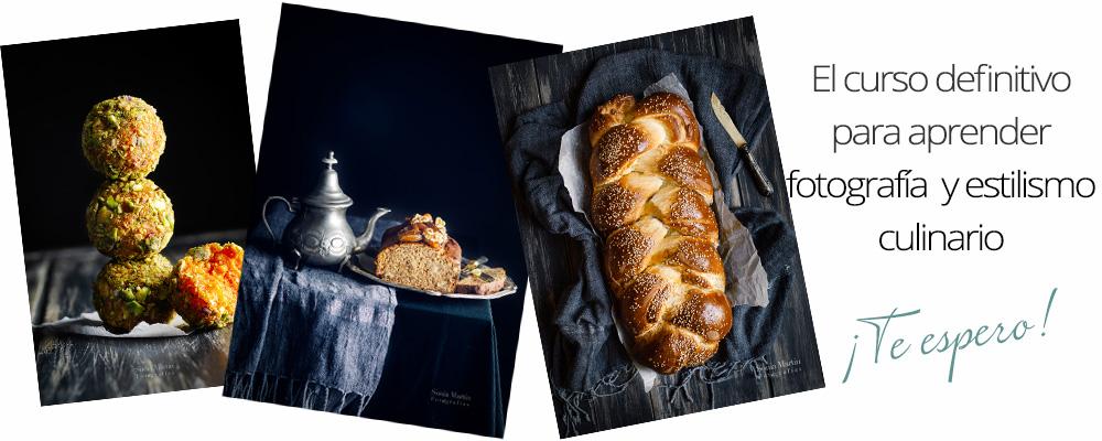 curso de fotografía culinaria