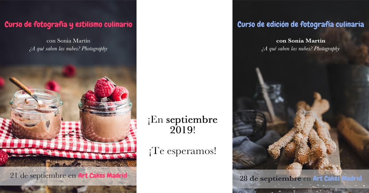 curso presencial de fotografía culinaria
