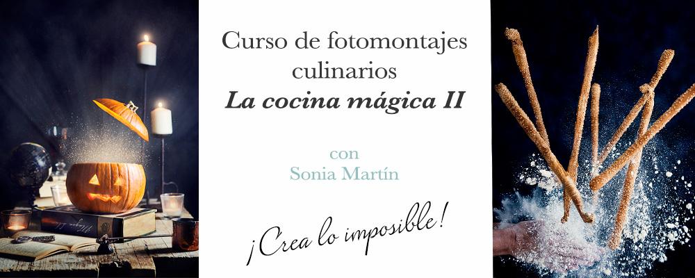 Curso de fotomontajes culinarios La cocina mágica II