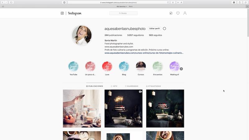 ortadas para tus historias destacadas en Instagram