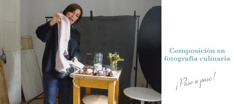 Collage composición en fotografía culinaria