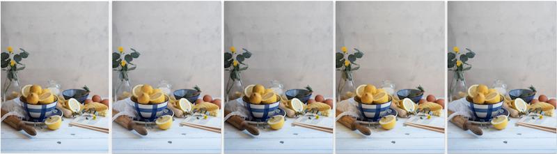 Reflectores para fotografía culinaria