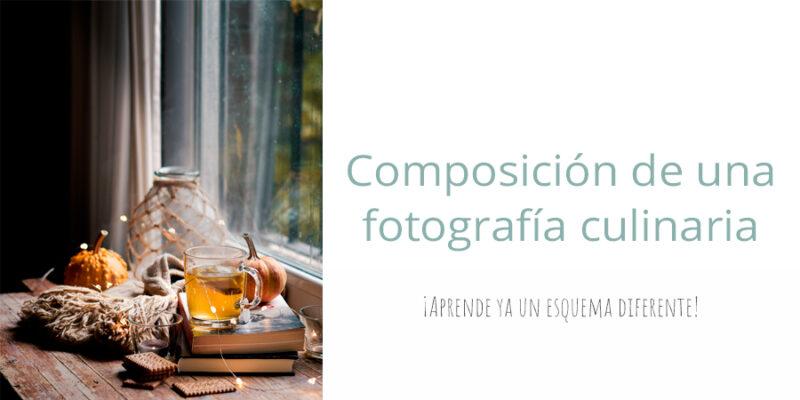 composición de una fotografía culinaria