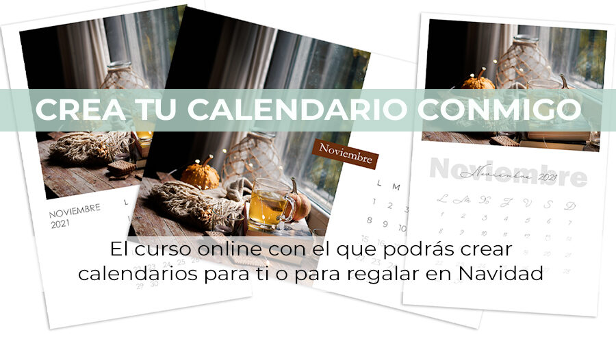 calendario con photoshop