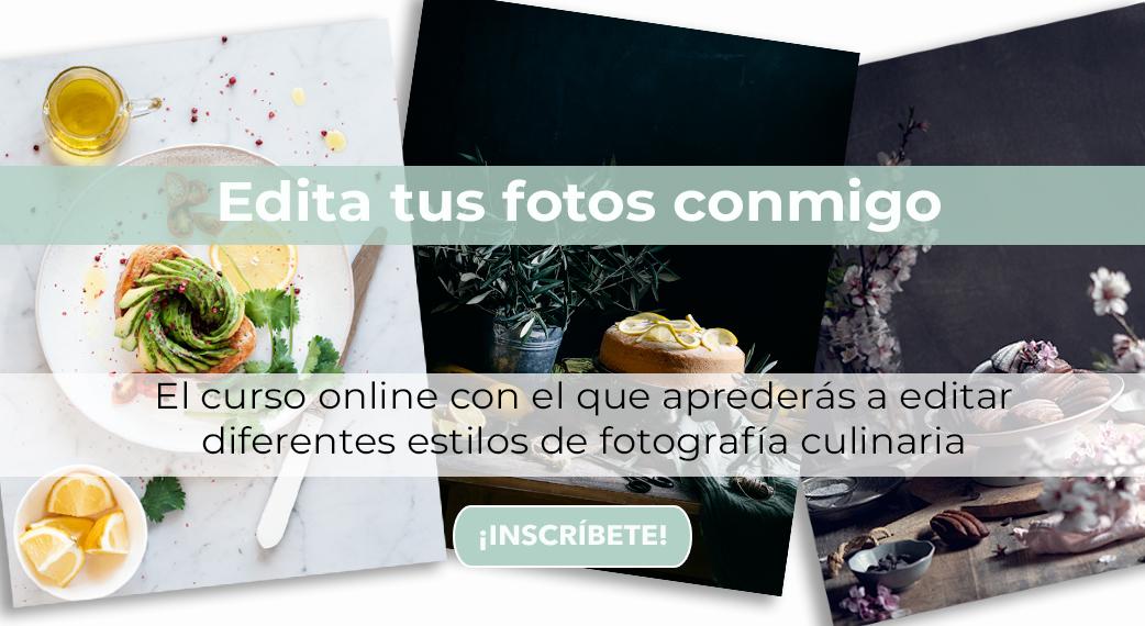 Edición fotografía culinaria